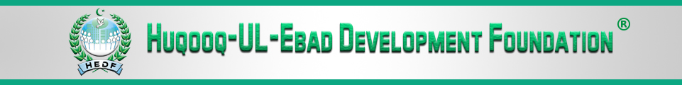 Huqooq-ul-Ebad Development Foundation (HEDF)
